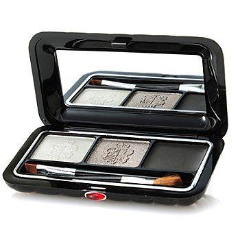 Borghese Satin Gel Eyeliner & Dual Eye Shadow Compact