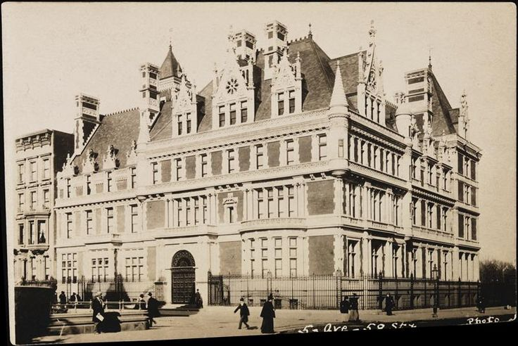Cornelius Vanderbilt House 1900