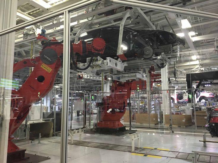 #TESLA #Factory: No #Humans Necessary...