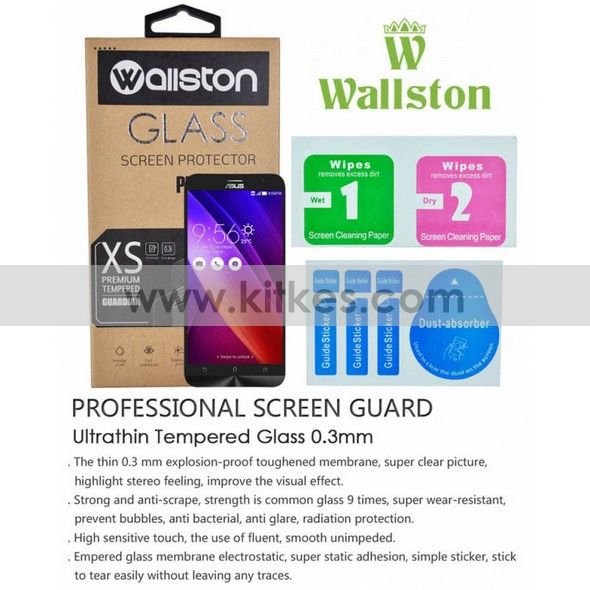 Wallston Tempered Glass ASUS Zenfone 2 (5.5inch) - 65 rb - kitkes.com
