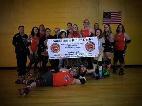 Roundtown Roller Derby #RRD #rollerderby #Circleville Ohio