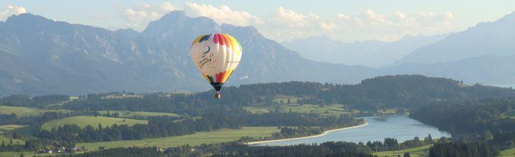 Ballooning Allgäu