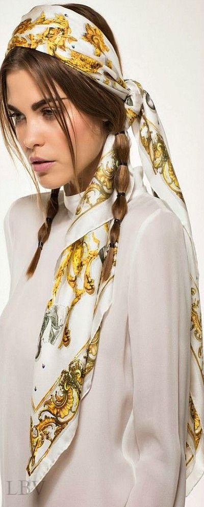 Scarf Fashion Style ♥✤ Hermes   LBV