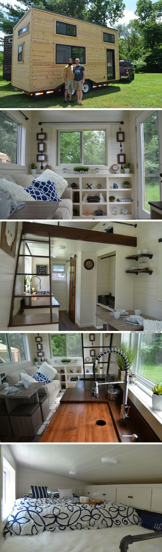 The Mohican: a 230 sq ft tiny house by Modern Tiny Living