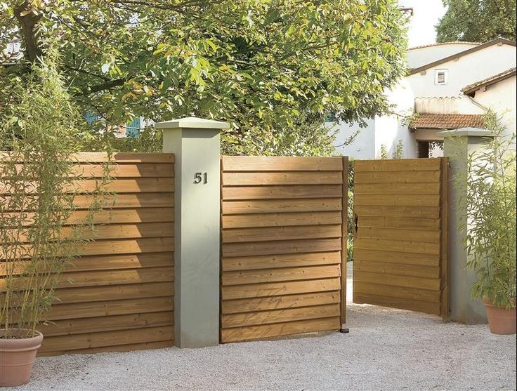 Les 25 meilleures id es de la cat gorie cloture bois leroy merlin sur pintere - Cloison jardin leroy merlin ...