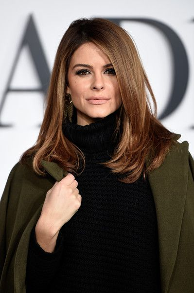 Maria Menounos Long Straight Cut - Maria Menounos Hair Looks - StyleBistro