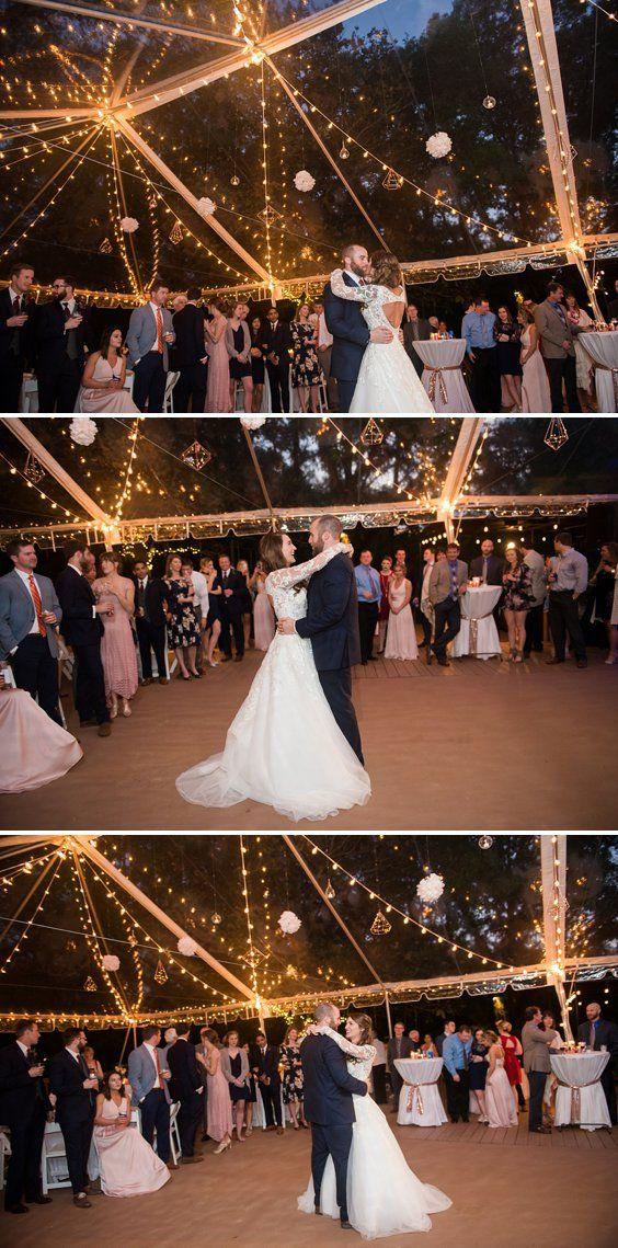 Clear Tent Wedding Reception at Desert Plantation - Magical Wedding Lights | A Princess Inspired Blog