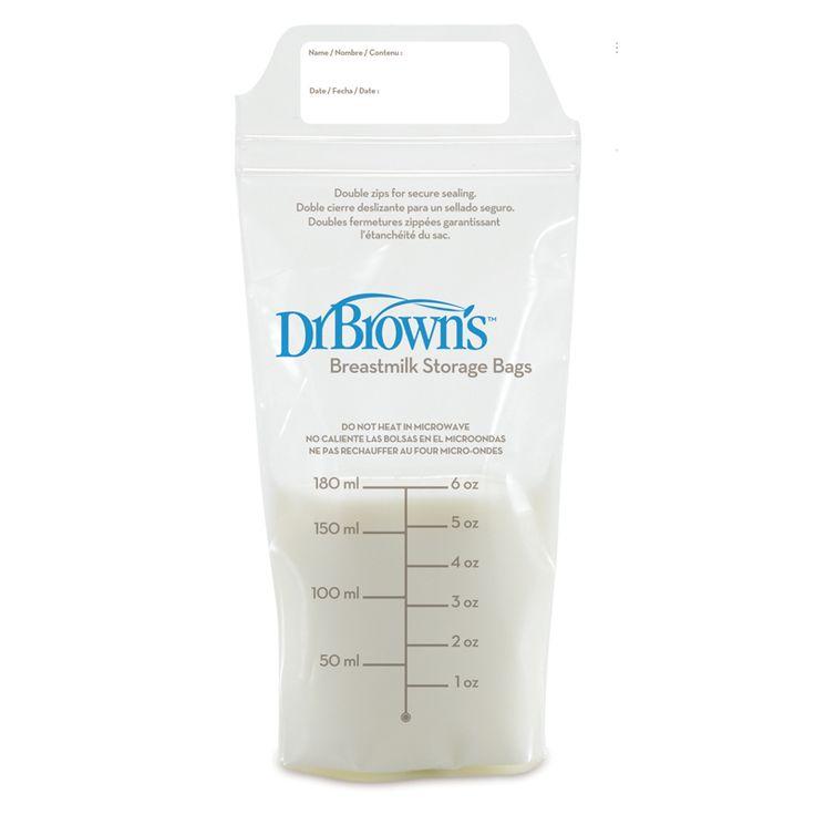 Dr Browns σακουλάκια αποθήκευσης μητρικού γάλακτος - ΛΗΤΩ Βρεφικά Πολυκαταστήματα