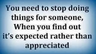 It's important to serve others, but being unappreciated & taken advantage of is no fun! Value yourself.
