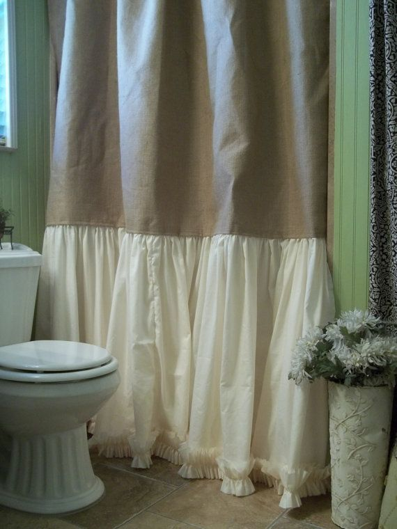 1000+ ideas about Burlap Shower Curtains on Pinterest ...