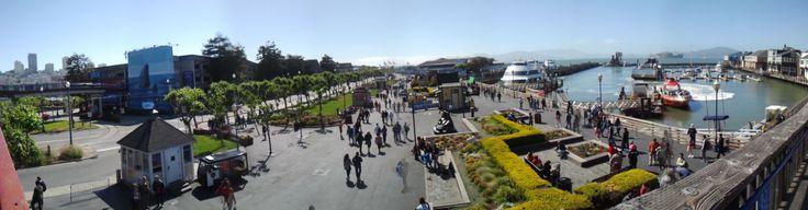 길라델리 반대편 항구에서 찍은 사진   The view of the opposite side of Ghirardelli near beach