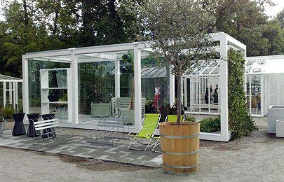 Bygg ett växthus av limträpelare och balkar
