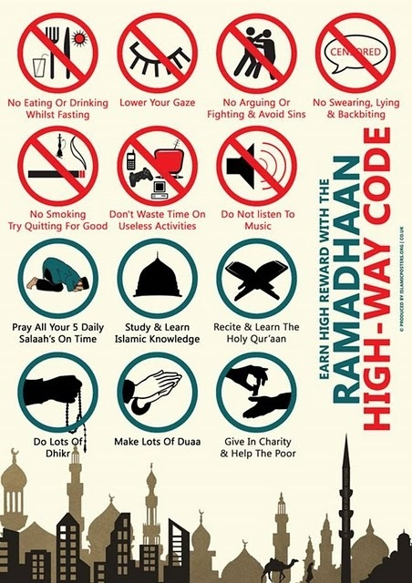 The best month of all Ramadan..