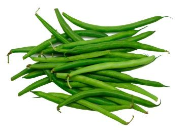 GREEN BEANS: a good source of cholesterol-lowering fiber and several vitamins that contribute to healthy eyes and bones.
