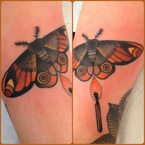 Old school moth tattoo google search tattoos pinterest for Tattoo school listings