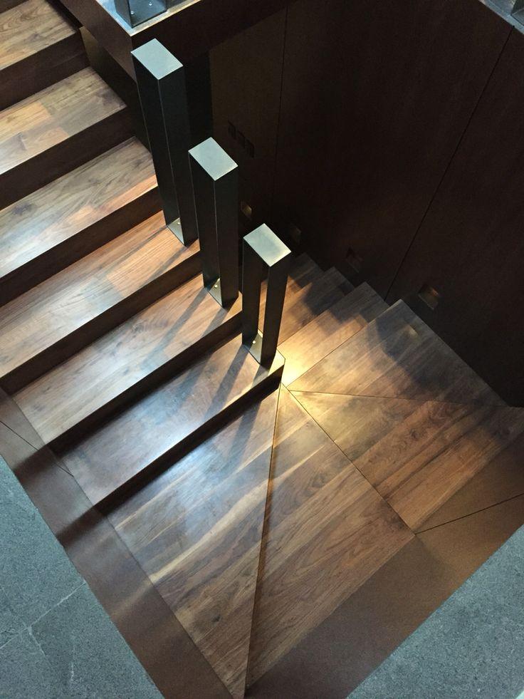 10 ideas about escaleras en madera on pinterest madera - Escaleras de casas ...