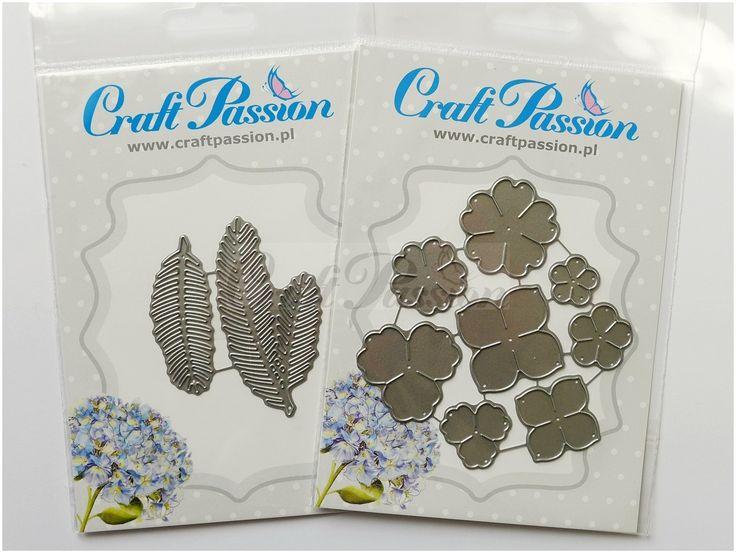 Komplet wykrojników gałązki choinkowe Craft Passion