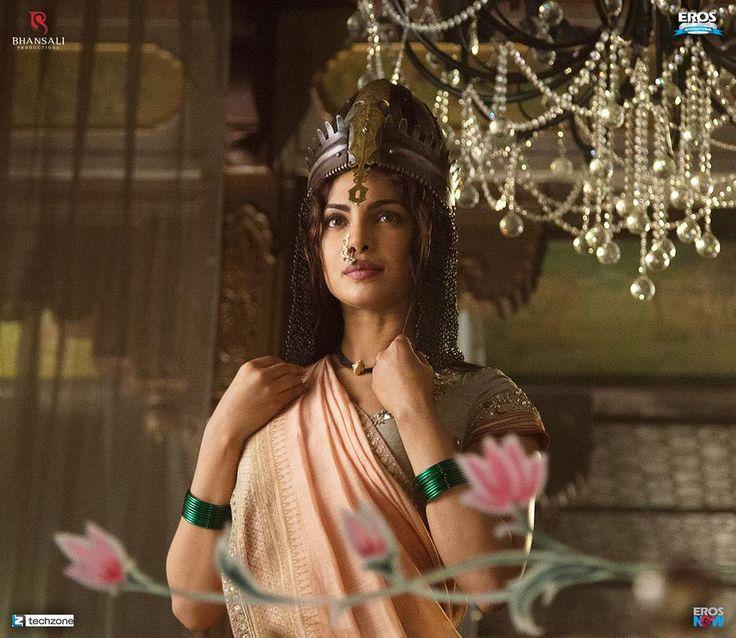First look of Priyanka Chopra as Kashibai in the epic, Bajirao Mastani!
