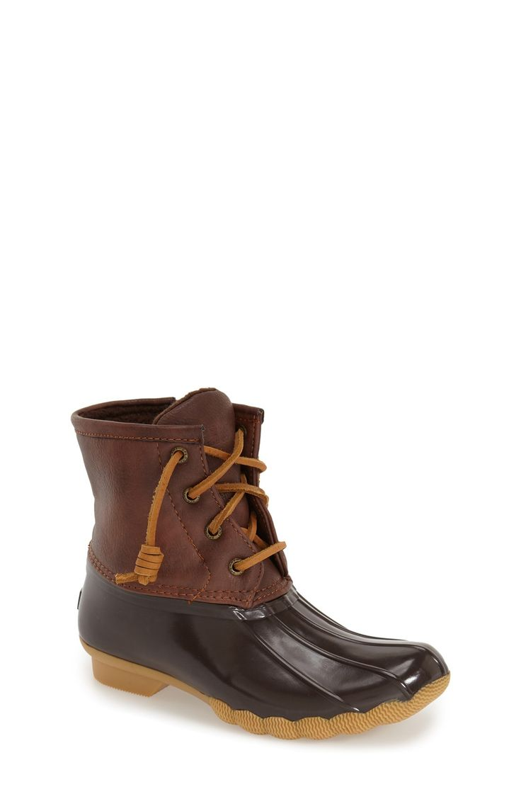 Sperry Kids 'Saltwater' Duck Boot (Toddler, Little Kid & Big Kid)