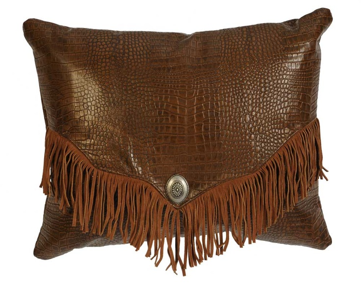 38 best Western leather pillows, crosses etc. images on ...