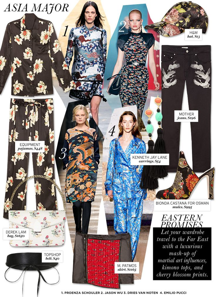 Who What Wear | Fall 2012 Trend Guide | Asia Major