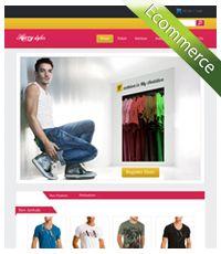 Live Web Solution - Ecommerces Template Design