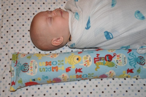flannel sock filled with rice. Nuke for 1 minute. Baby is convinced that the warm sock is a warm momma and sleep ensues for all. - They use these in the NICU. Great idea. Genius!!! Might try this tomorrow!