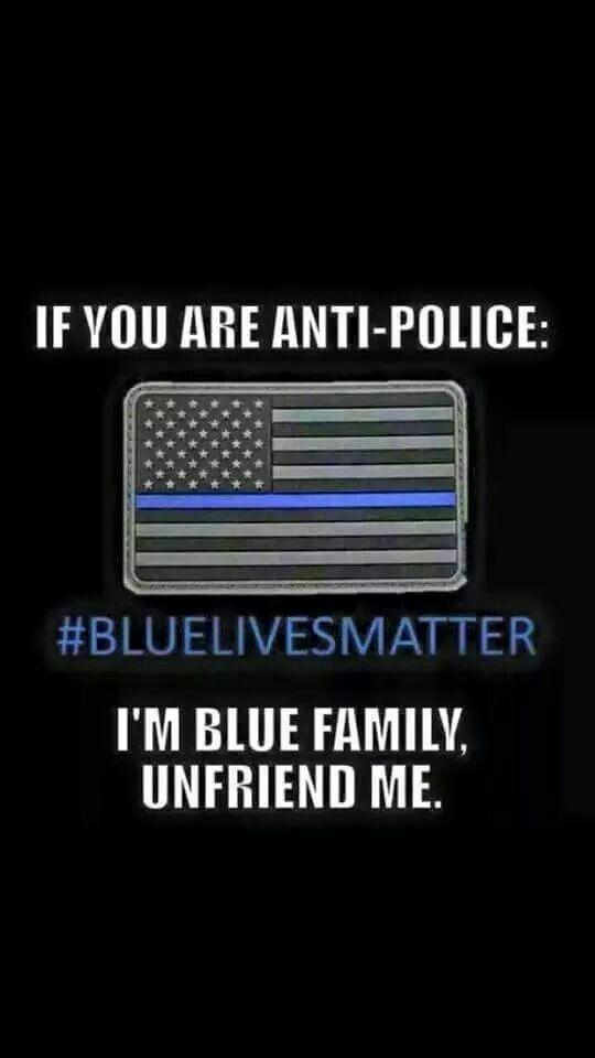 IF YOU ARE ANTIPOLICE THEN UNFRIEND ME! Law Enforcement Today www.lawenforcementtoday.com