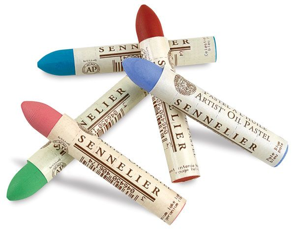 Love working with oil pastels! There are a few good ones to choose from like these Sennelier Oil Pastels