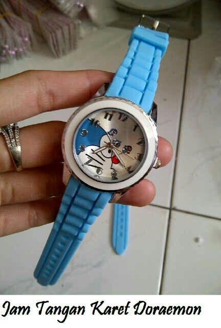 #jam #tangan #karet #doraemon @ 65.000