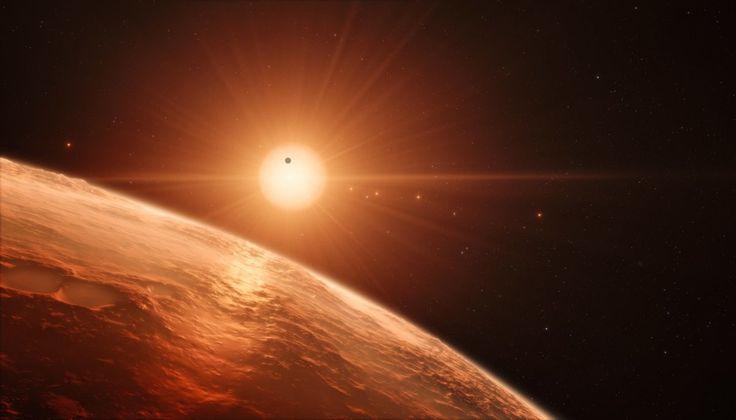 Planetárny systém TRAPPIST-1 sa skladá zo siedmych exoplanét.