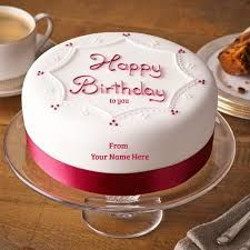 Image result for happy birthday cake with name