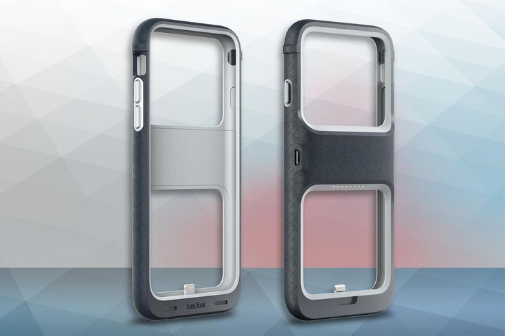 SanDisk's new iXpand Memory Case protects your iPhone while simultaneously expanding its storage capacity.