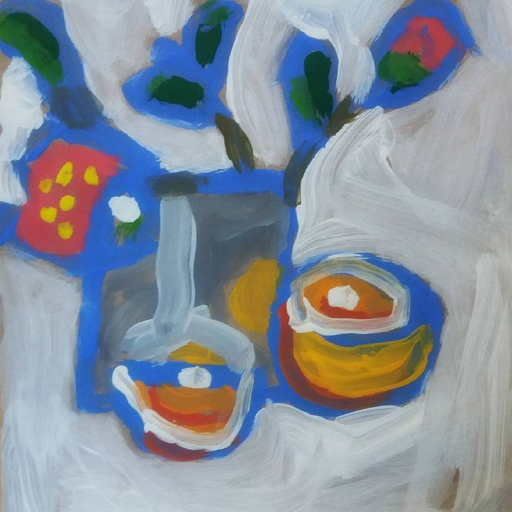 Still life by a 6 year old | Student art | Ansofie Jordaan Art | Paintings & Art Classes