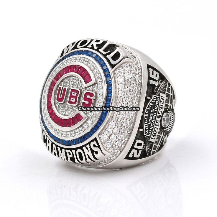 2016 Chicago Cubs World Series Championship Ring - ChampionshipRingClub.com