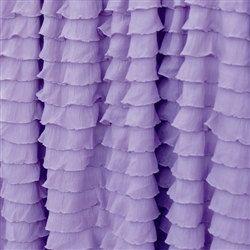Lavender Ruffle Crib Skirt, Ruffled Crib Skirt, Purple Ruffle Crib Skirt, Nursery Bedding, Lavender Baby Bedding, Modern Crib Skirt