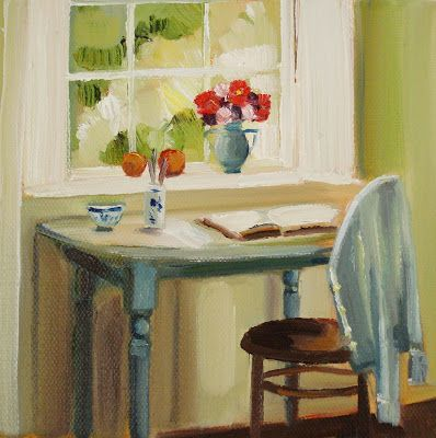 Janet Hill. The Blue Cardigan