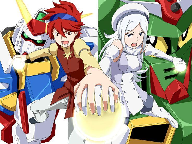 Gundam Build Fighters Reji and Aila