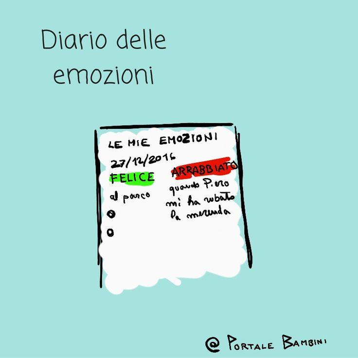 educazione emotiva a scuola con il diario delle emozioni