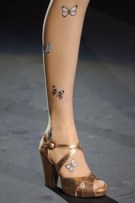Anna Sui tights