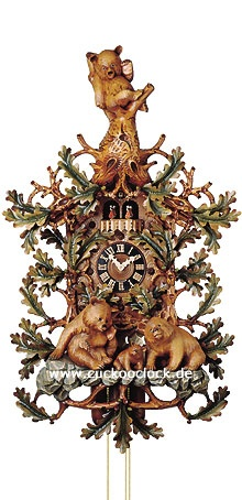 Delightful cuckoo clock ... the wonders of clockwork! from Cuckooclock.de