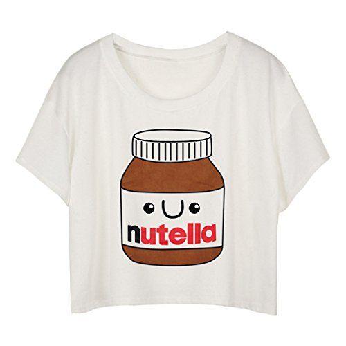 MingTai Mujeres Camiseta Manga Corta Con Cuello Redondo Camisetas Cortas Personalizadas Camisas Blancas Mujer Basicas Divertidas #camiseta #friki #moda #regalo