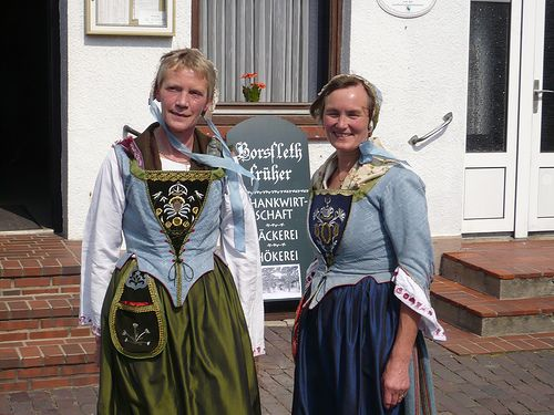 Traditional Dress from Borsfleth, Germany (Schleswig-Holstein)