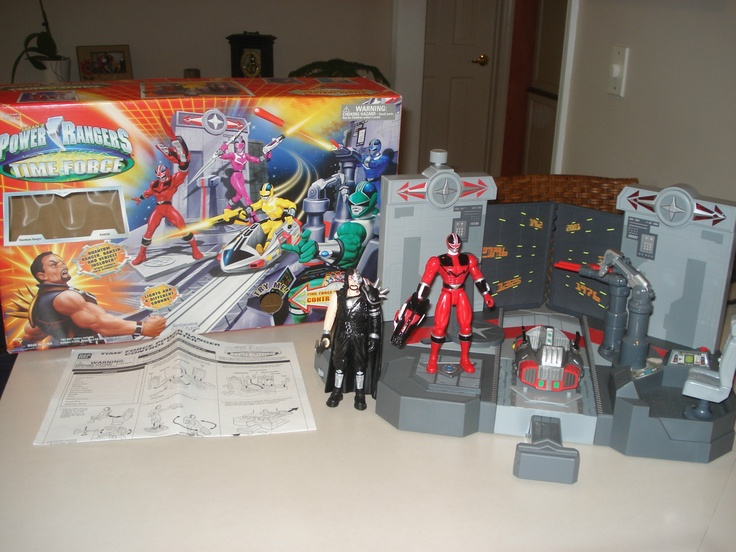 Power Rangers Time Force playset