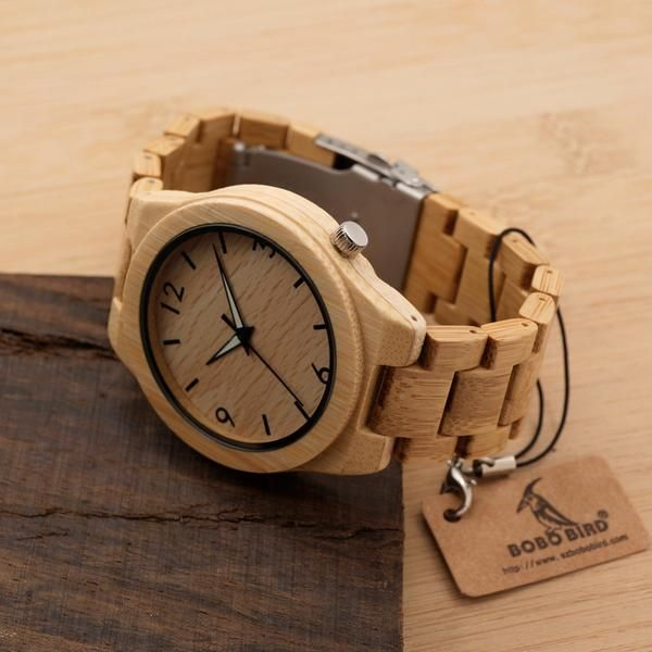 Product of the Week: Bamboo Eco Classic. Connect with nature with this beautiful timepiece, crafted with sustainable wood. https://figandwattle.com.au/products/bamboo-eco-classic