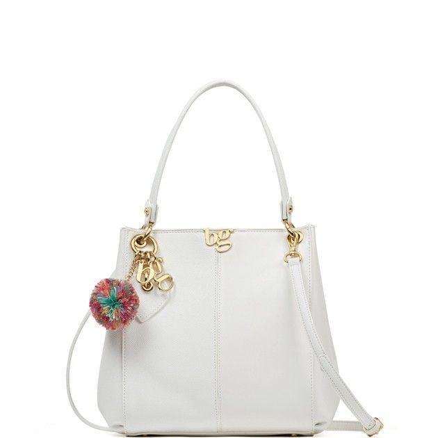 Top Handle Handbag On Sale, White, polyurethane, 2017, one size Blugirl
