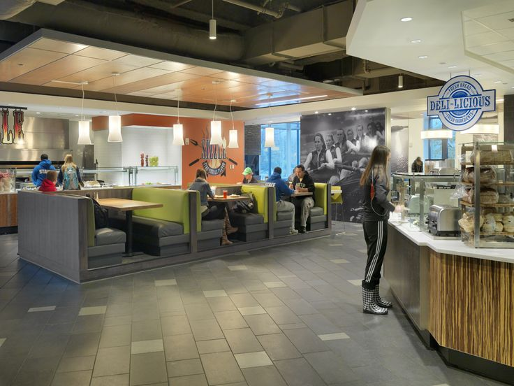 51 best images about university dining on pinterest food for Dining hall interior