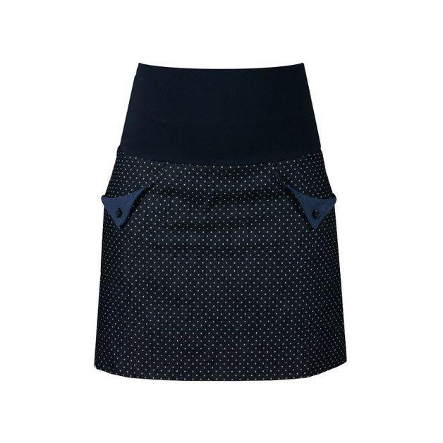 Hosen & Röcke - Jeansrock Dots & Stripes - ein Designerstück von Klarabellas bei DaWanda