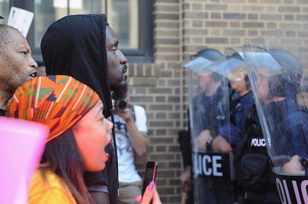 As Protests Continue In St. Louis Calls For The Police Chief's Ouster Grow