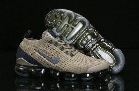 8134261d4db1d Nike Air Vapormax Flyknit 2019 Mens Womens Running Shoes Olive Green Black  AJ6900-300